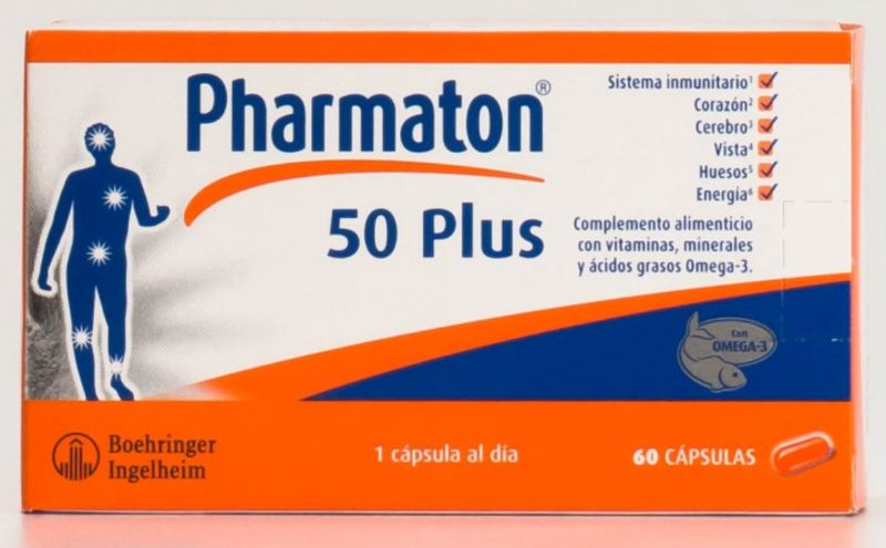 PHARMATON CORACTIVE 50 PLUS 60 CAPS