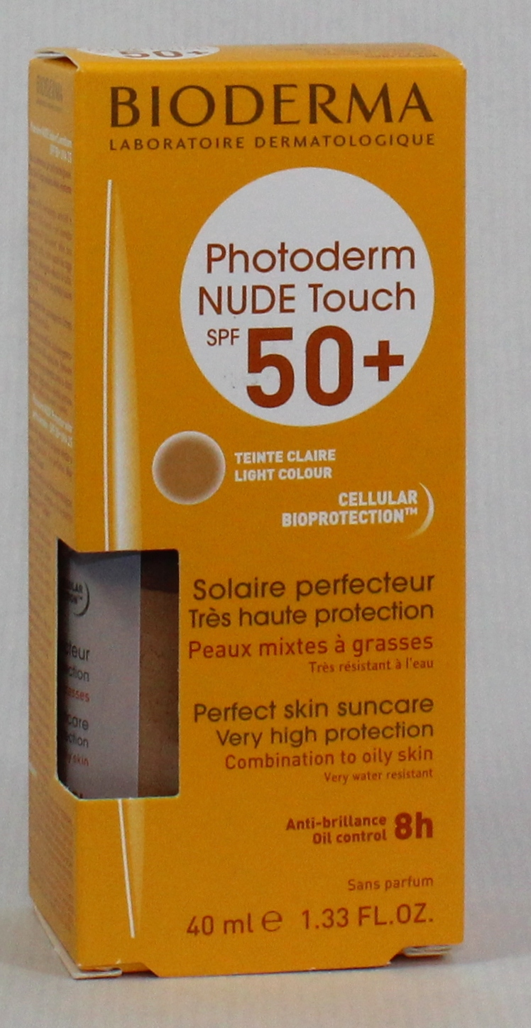 PHOTODERM NUDE SPF 50+ BIODERMA COLOR CLARO 40ML