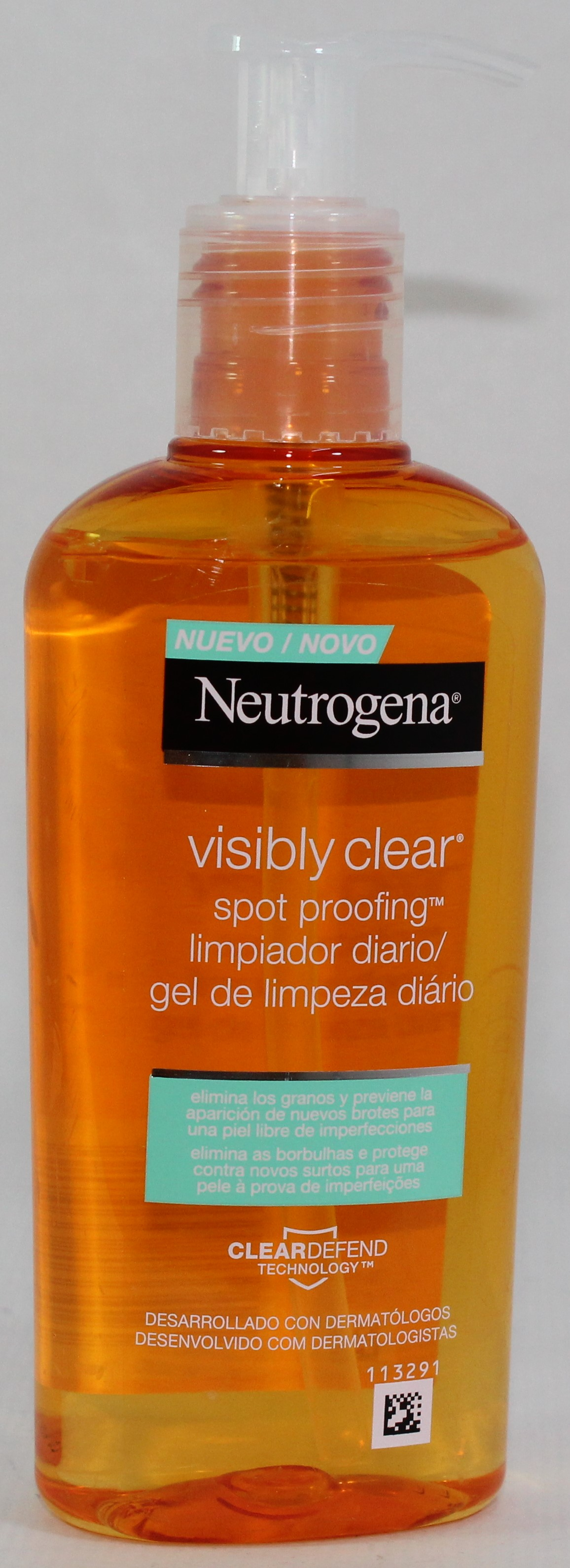 NEUTROGENA VISIBLY CLEAR LIMPIADOR DIARIO 200 ML
