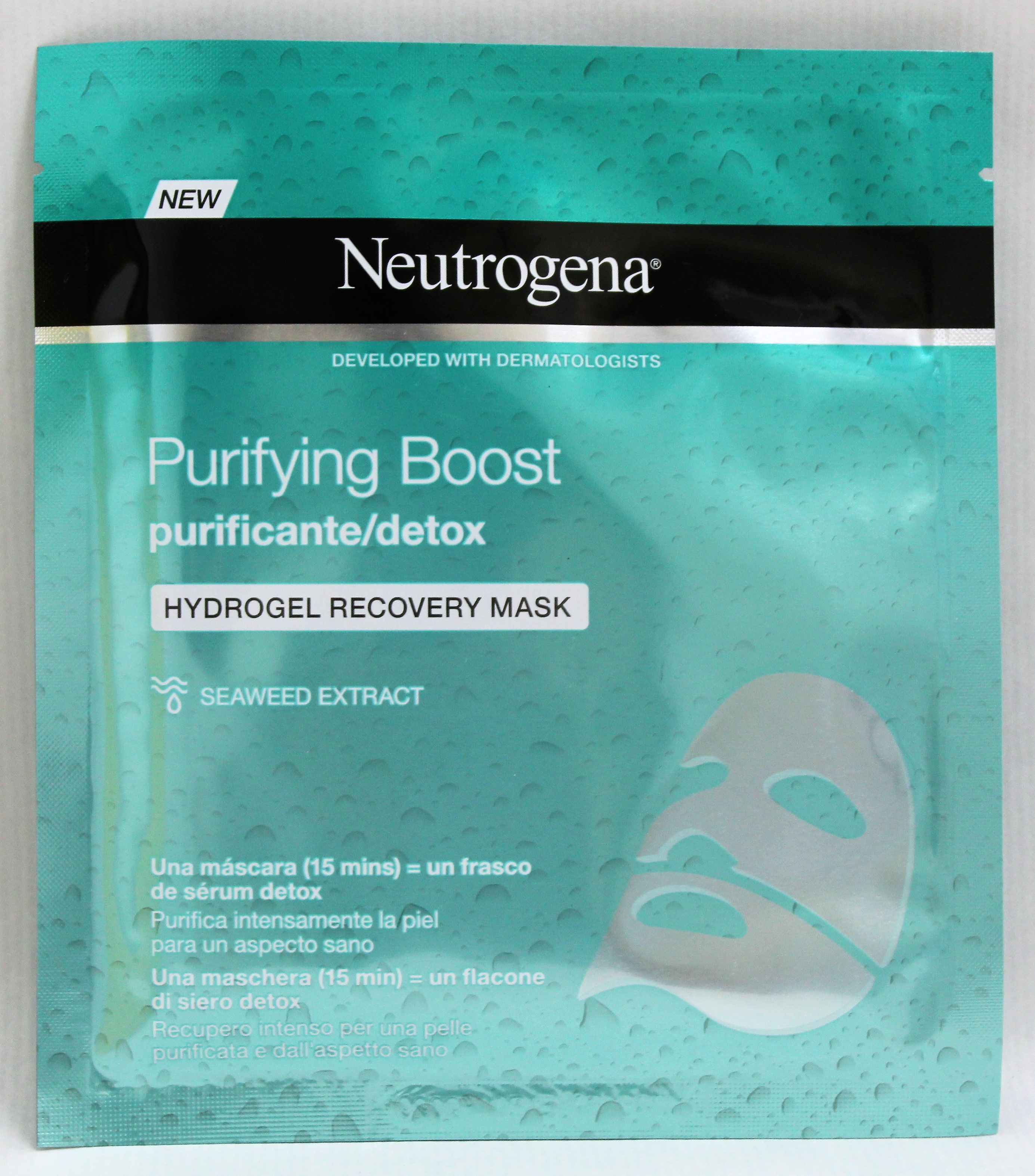 NEUTROGENA PURIFYING BOOST MASK HYDROGEL RECOVER