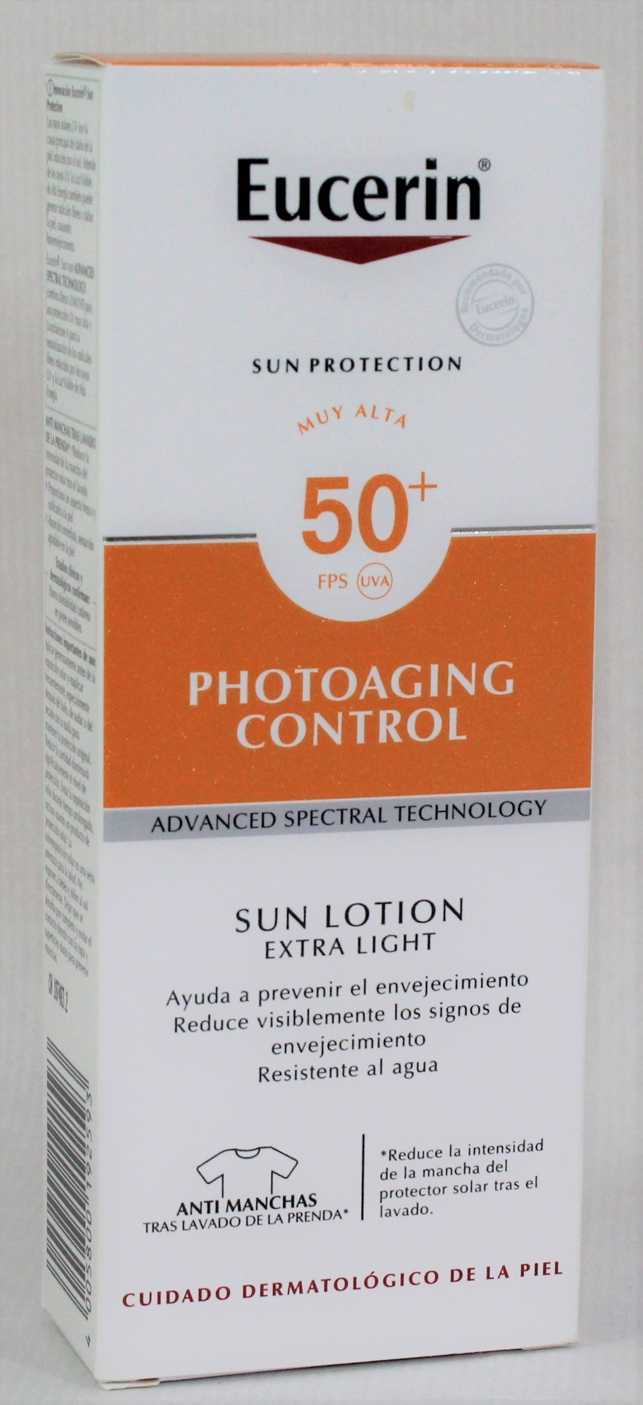 EUCERIN SUN SPF50+ LOCION XT LIGHT PHOTOAGING 150ML