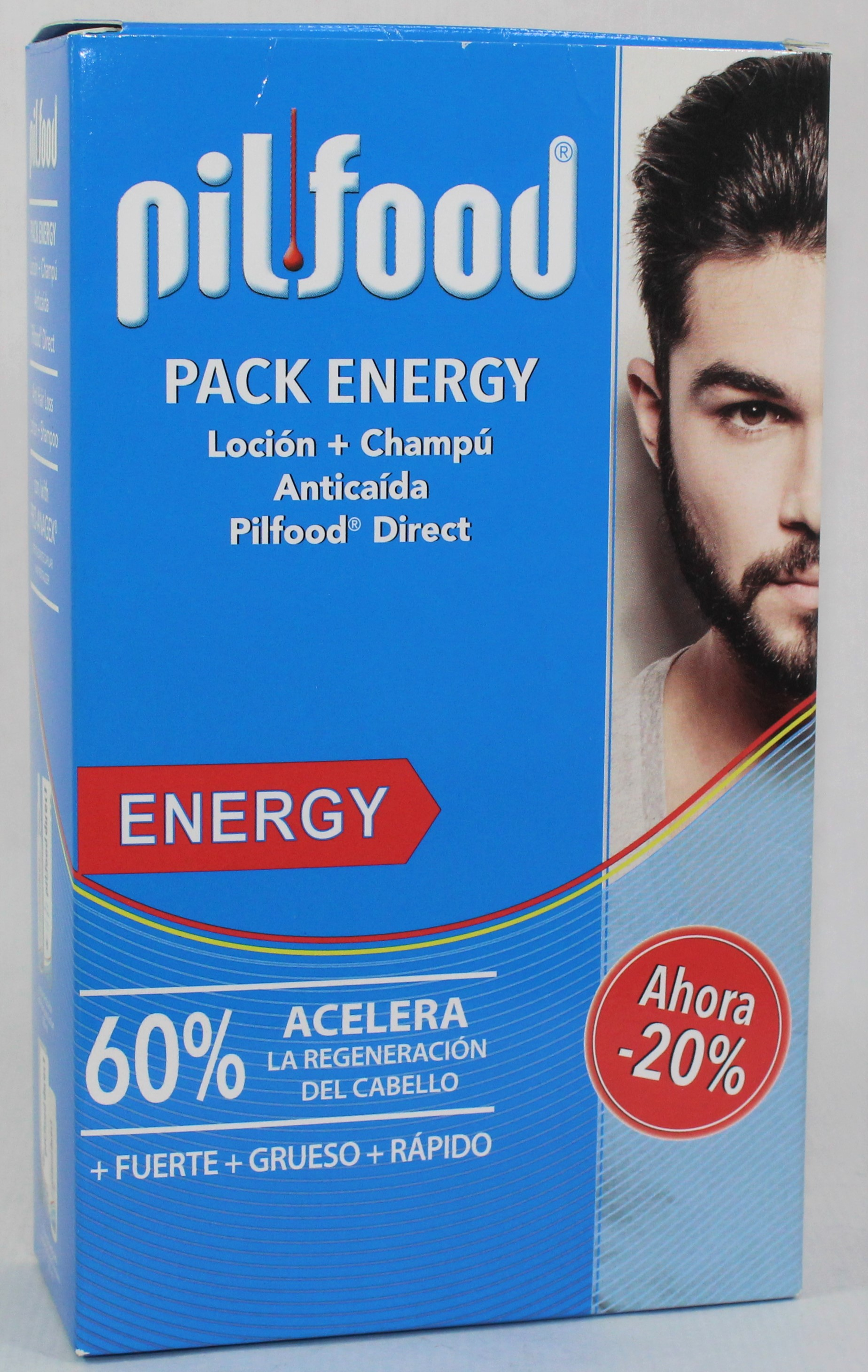 PILFOOD PACK ENERGY (LOCION + CHAMPU)