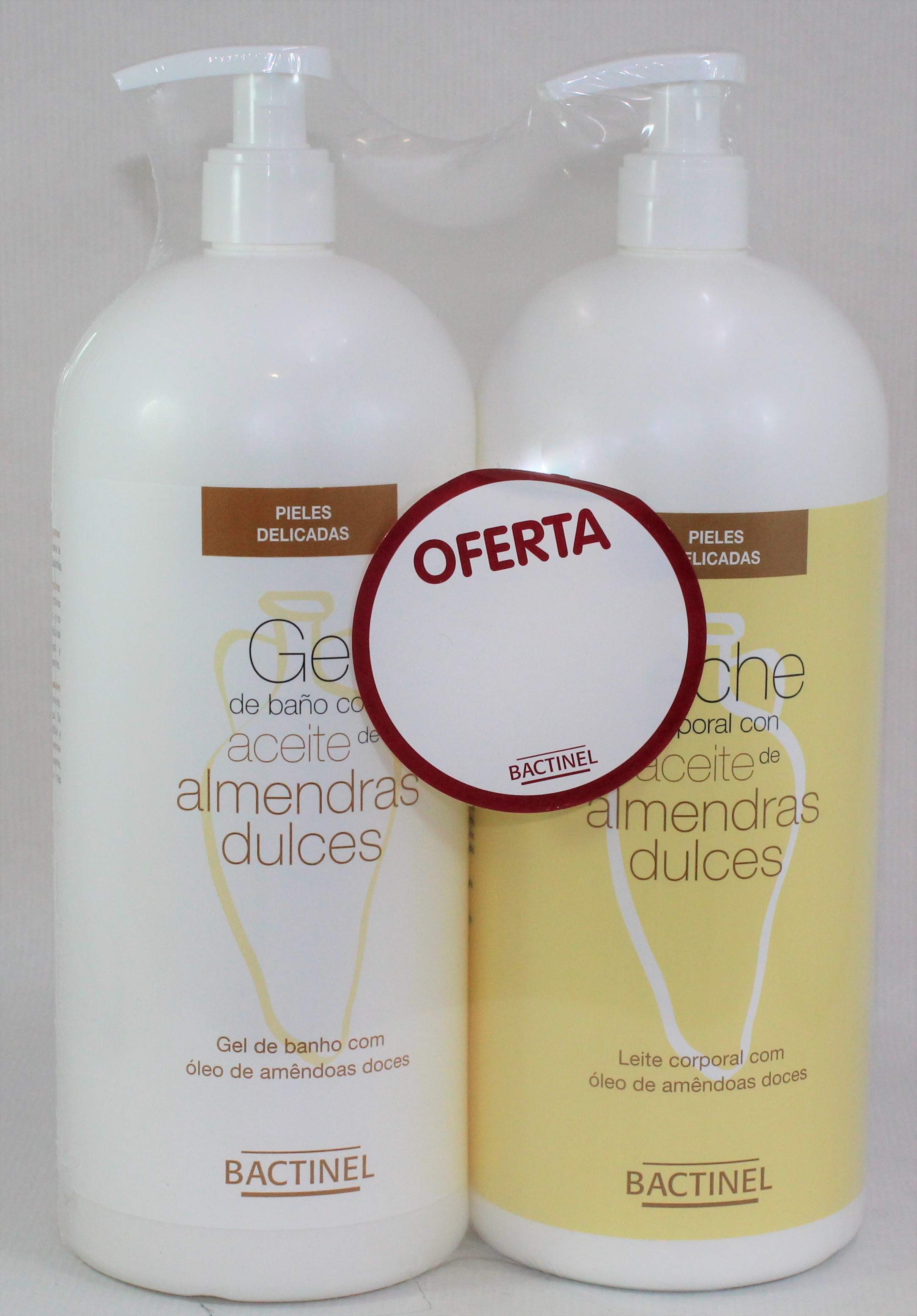 BACTINEL LECHE ALMENDRAS LOCION 750+ GEL 750ML