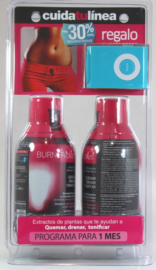 4.3.2.1 BURNER PLUS 280ML X 2 BOTELLAS