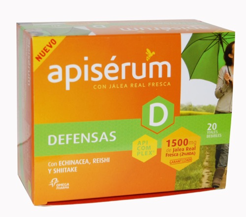 APISERUM DEFENSA 1500MG 20VIAL