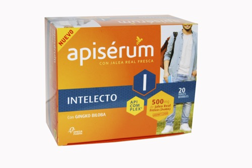 APISERUM INTELECTO 500 MG 20 VIAL
