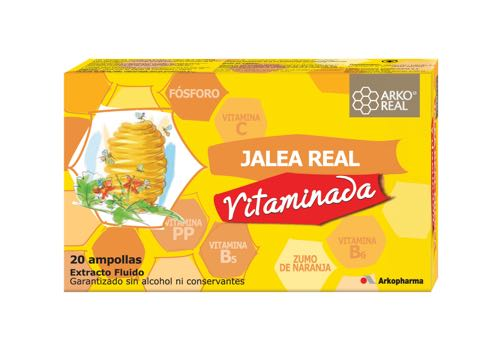 ARKO JALEA REAL VITAMINADA 20 AMPOLLAS 15 ML