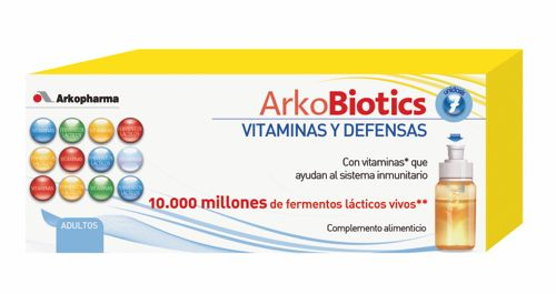 ARKOBIOTICS VIT Y DEFENSAS ADULTOS 7 UNIDOSIS