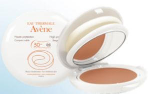 AVENE COMPACTO COLOREADO SPF50 DORADO