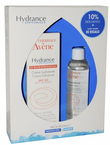 AVENE HYDRANCE RICA UV SPF 20 40 ML + REGALO