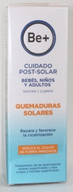 BE+ AFTERSUN ESPECIAL QUEMADURAS 100 ML