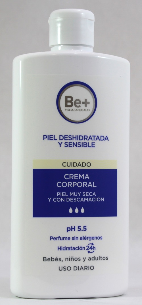 BE+ CREMA CORPORAL P SECA CON DESCAMACION 400 ML