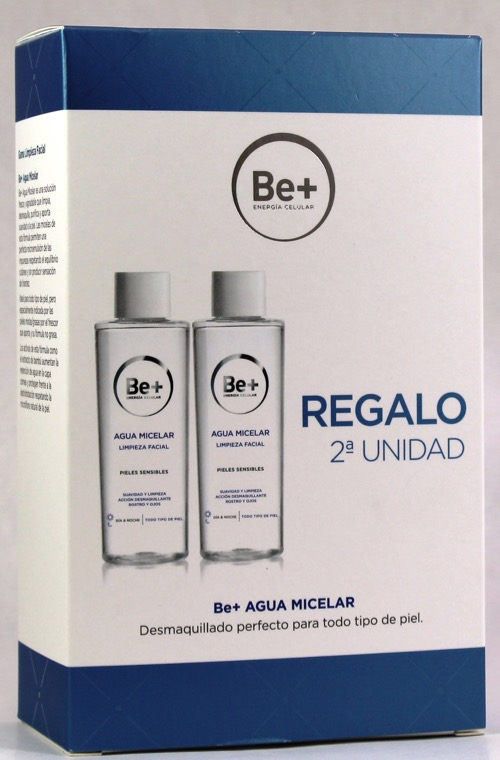 BE+ DUPLO AGUA MICELAR 200ML