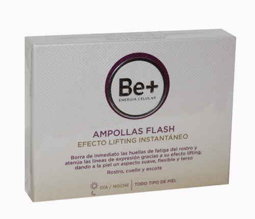 BE+ EFECTO FLASH 5 AMPOLLAS