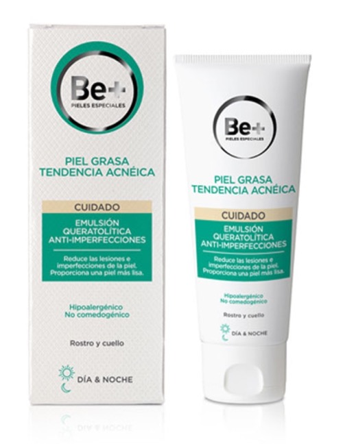 BE+ EMULSION QUERATOLITICA ANTIACNEICA 40ML