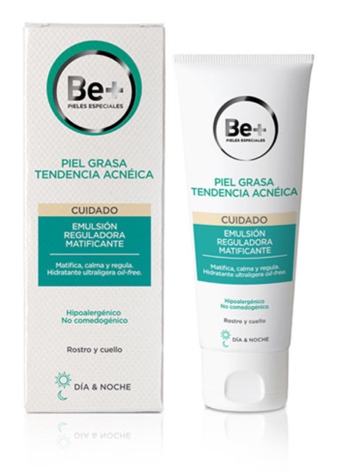 BE+ EMULSION REGULADORA MATIFICANTE ACNEICA 50ML
