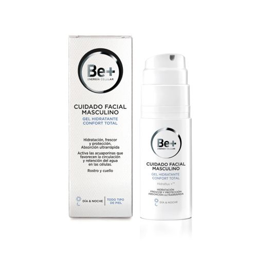 BE+ GEL HIDRATANTE FACIAL MASCULINO 50 ML