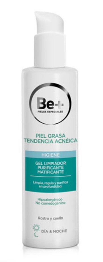 BE+ GEL PURIFICANTE MATIFICANTE ANTIACNE 200ML