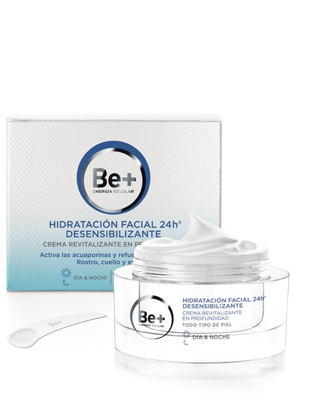 BE+ HIDRATACION FACIAL 24H DESENSIBILIZANTE 50ML