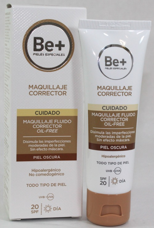 BE+ MAQUILLAJE FLUIDO P.OSCURA OIL FREE SPF 20