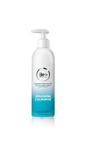 BE+ POSTSOLAR EMULSION CUIDADO CALMANTE 250 ML