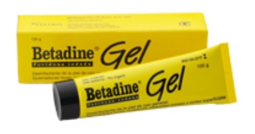 BETADINE 100 MG/G GEL TOPICO 100 G