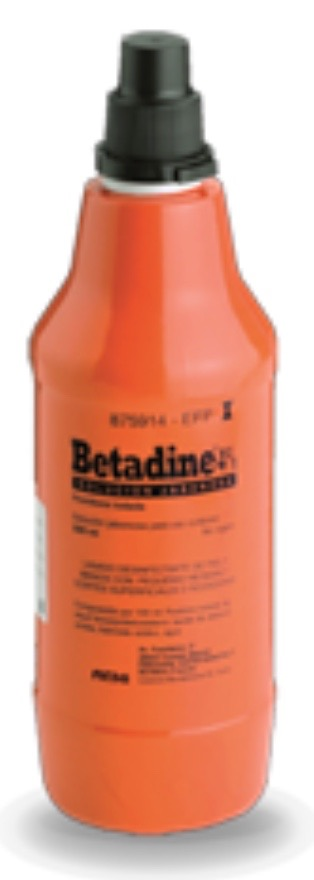 BETADINE JABONOSO 40 mg/ml SOLUCION CUTANEA 1 FRASCO 500 ml
