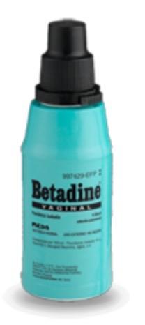 BETADINE VAGINAL 100 mg/ml SOLUCION VAGINAL 1 FRASCO 125 ml