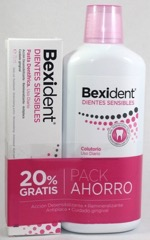 BEXIDENT DIENTES SENSIBLES PACK COLUTORIO + PAST