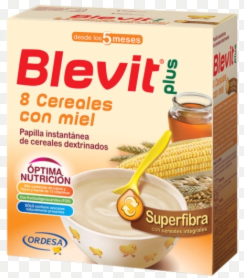BLEVIT PLUS SUPERFIBRA 8CEREALES MIEL 600G