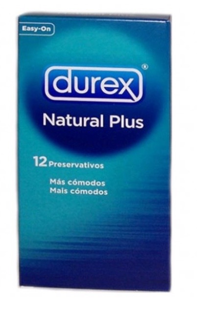 DUREX NATURE PLUS PRESERVATIVOS 12 UDS