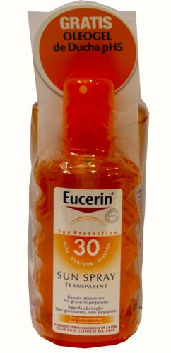 EUCERIN SUN PROTECTION 30 SUN SPTRANSP+AFTERSUN