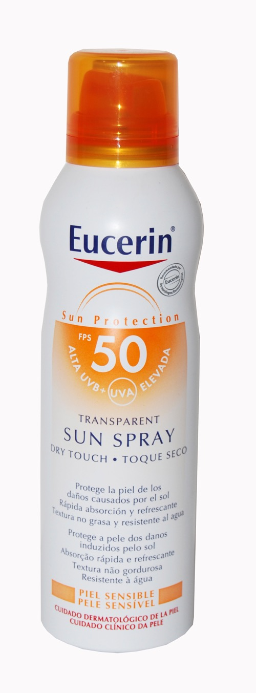 EUCERIN SUN PROTECTION 50 SPRAY TRANSPARENTE DRY