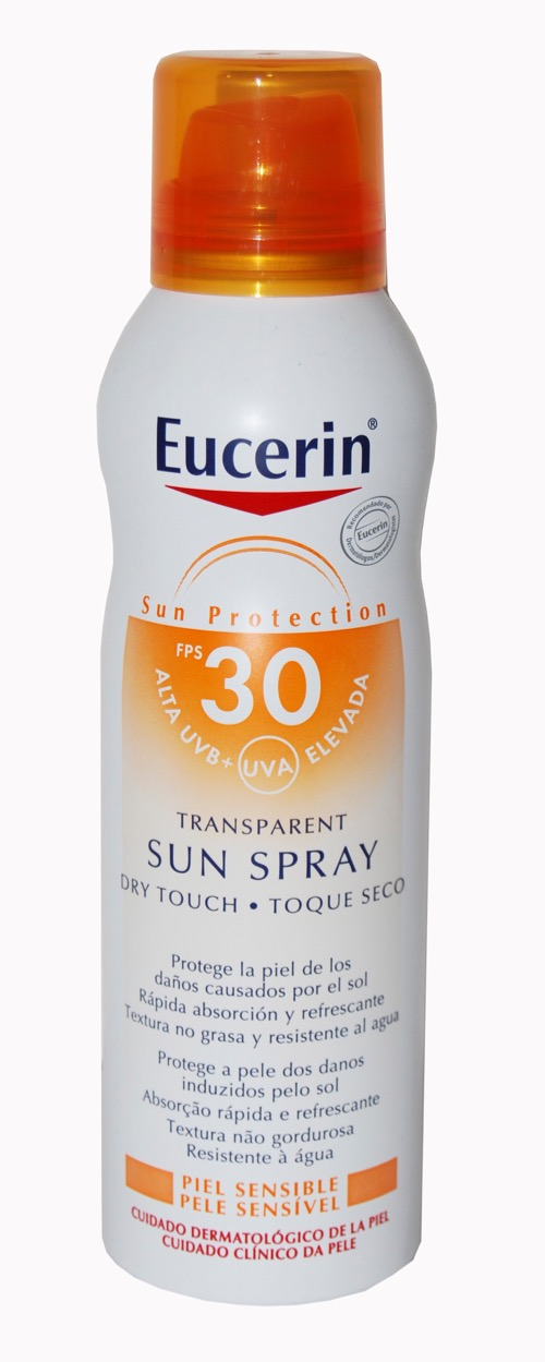 EUCERIN SUN SPF30+ SPRAY TRANSPARENTE DRY TOUCH