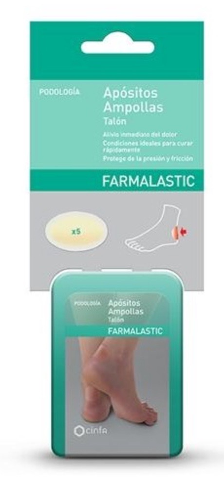FARMAFEET APOSITOS AMPOLLAS TALON  5 UNIDADES