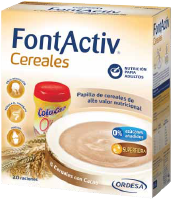 FONTACTIV 8 CEREALES + CACAO 600 G