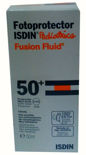 FOTOPROTECTOR ISDIN SPF-50+ PEDIATRIC FLUID 50ML