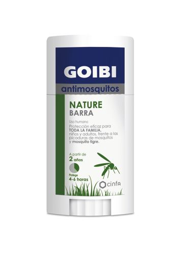 GOIBI ANTIMOSQUITOS NATURE BARRA 40GR