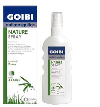 GOIBI ANTIMOSQUITOS CITRODIOL NATURE SPRAY 100ML