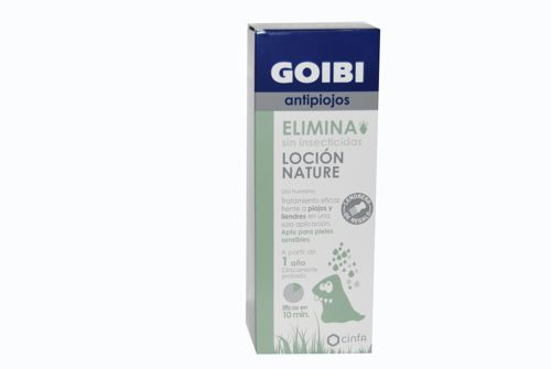 GOIBI ANTIPIOJOS LOCION NATURE ELIMINA 200 ML