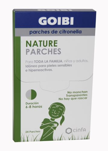 GOIBI PARCHES CITRONELA 24 PARCHES