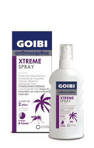 GOIBI XTREME ANTIMOSQUITOS TROPICAL 75 ML