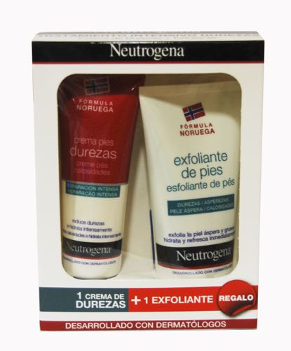 NEUTROGENA CREMA DUREZAS 50ML + EXFOLIANTE