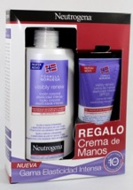NEUTROGENA PACK VISIBLY RENEW LOCION 400ML+MANOS