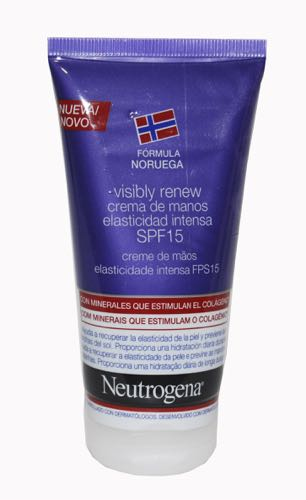 NEUTROGENA VISIBLY RENEW SPF 15 CREMA MANOS 75ML