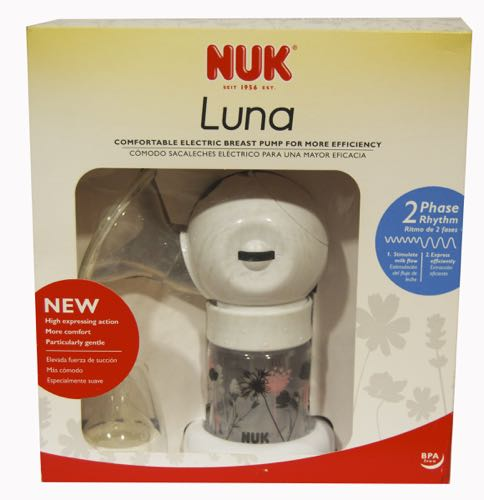 NUK SACALECHES LUNA ELECTRIC/PILAS