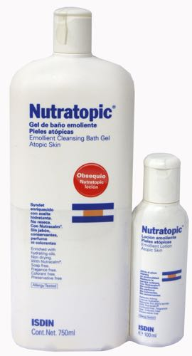 NUTRATOPIC PRO-AMP GEL PIEL ATOPICA 750 ML