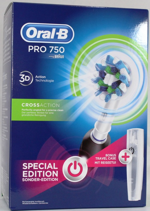 ORAL B CEPILLO ELECTRICO PRO 750 CROSS ACTION