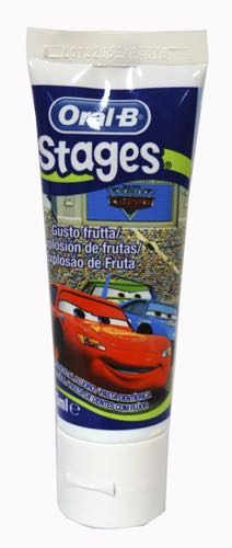 ORAL-B PASTA DENTAL TUTTI FRUTI STAGES 75 ML