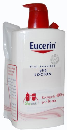 PH5 EUCERIN LOCION 1000 ML + ECOPACK 400ML